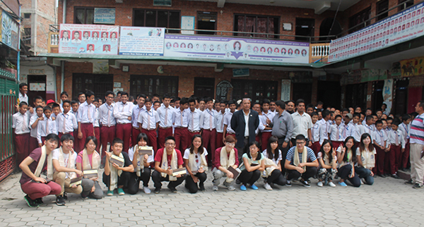 Sponsorship Program in VSN School, Thimi.